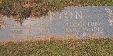 BURTON, LOUISE - Calhoun County, Arkansas | LOUISE BURTON - Arkansas Gravestone Photos