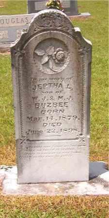 BUZBEE, JEPTHA L - Calhoun County, Arkansas | JEPTHA L BUZBEE - Arkansas Gravestone Photos