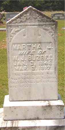 BUZBEE, MARTHA J - Calhoun County, Arkansas | MARTHA J BUZBEE - Arkansas Gravestone Photos