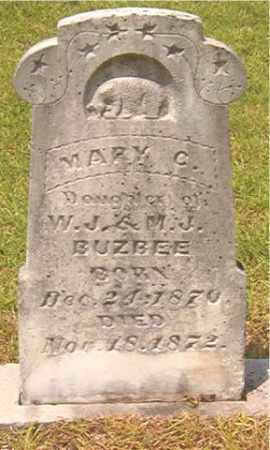 BUZBEE, MARY C - Calhoun County, Arkansas | MARY C BUZBEE - Arkansas Gravestone Photos