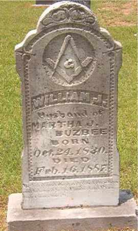 BUZBEE, WILLIAM J - Calhoun County, Arkansas | WILLIAM J BUZBEE - Arkansas Gravestone Photos