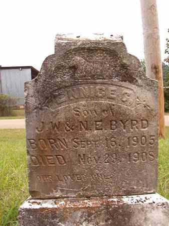 BYRD, ENNICE G - Calhoun County, Arkansas | ENNICE G BYRD - Arkansas Gravestone Photos
