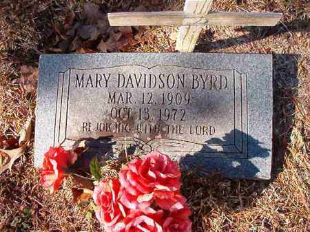 DAVIDSON BYRD, MARY - Calhoun County, Arkansas | MARY DAVIDSON BYRD - Arkansas Gravestone Photos