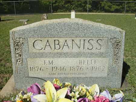 CABANISS, BELLE - Calhoun County, Arkansas | BELLE CABANISS - Arkansas Gravestone Photos