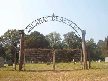 *CALAWAY CEMETERY GATE,  - Calhoun County, Arkansas |  *CALAWAY CEMETERY GATE - Arkansas Gravestone Photos