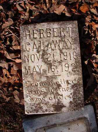 CALAWAY, HERBERT - Calhoun County, Arkansas | HERBERT CALAWAY - Arkansas Gravestone Photos