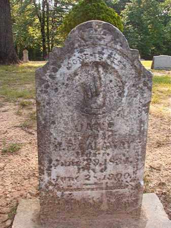 CALAWAY, JANE - Calhoun County, Arkansas | JANE CALAWAY - Arkansas Gravestone Photos