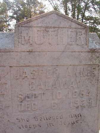 CALAWAY, JASPER ANNIE - Calhoun County, Arkansas | JASPER ANNIE CALAWAY - Arkansas Gravestone Photos