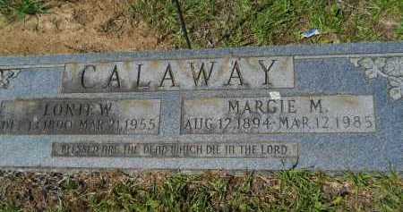 CALAWAY, MARGIE M - Calhoun County, Arkansas | MARGIE M CALAWAY - Arkansas Gravestone Photos