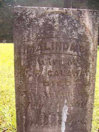 CALAWAY, MALINDA B - Calhoun County, Arkansas | MALINDA B CALAWAY - Arkansas Gravestone Photos