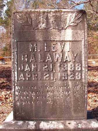 CALAWAY, M LEVI - Calhoun County, Arkansas | M LEVI CALAWAY - Arkansas Gravestone Photos