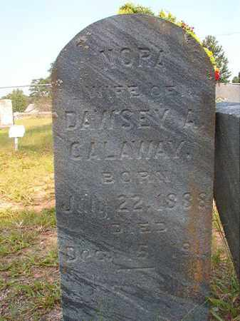 CALAWAY, NORA - Calhoun County, Arkansas | NORA CALAWAY - Arkansas Gravestone Photos