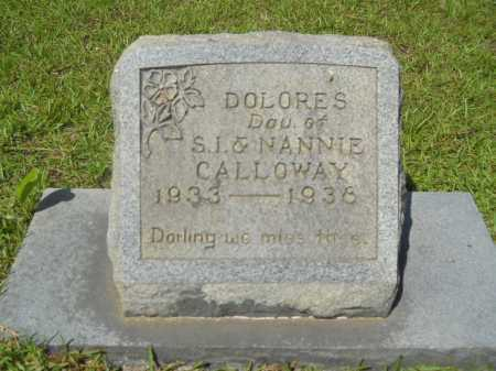 CALLOWAY, DOLORES - Calhoun County, Arkansas | DOLORES CALLOWAY - Arkansas Gravestone Photos