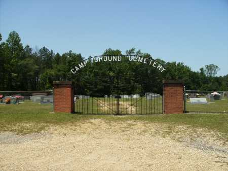*CAMPGROUND GATE,  - Calhoun County, Arkansas |  *CAMPGROUND GATE - Arkansas Gravestone Photos