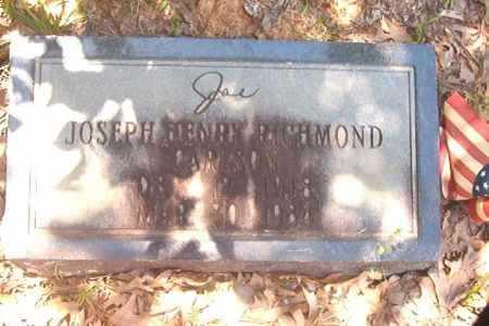 CARLSON, JOSEPH HENRY RICHMOND - Calhoun County, Arkansas | JOSEPH HENRY RICHMOND CARLSON - Arkansas Gravestone Photos