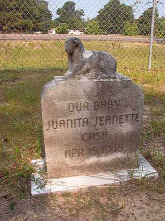 CASH, JUANITA JEANETTE - Calhoun County, Arkansas | JUANITA JEANETTE CASH - Arkansas Gravestone Photos