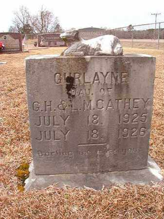 CATHEY, GURLAYNE - Calhoun County, Arkansas | GURLAYNE CATHEY - Arkansas Gravestone Photos