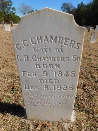 CHAMBERS, C C - Calhoun County, Arkansas | C C CHAMBERS - Arkansas Gravestone Photos