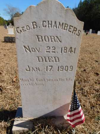 CHAMBERS, GEORGE B - Calhoun County, Arkansas | GEORGE B CHAMBERS - Arkansas Gravestone Photos