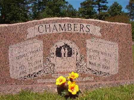 CHAMBERS, GEORGE THOMAS - Calhoun County, Arkansas | GEORGE THOMAS CHAMBERS - Arkansas Gravestone Photos