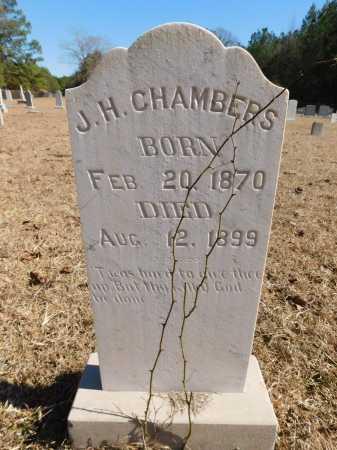 CHAMBERS, J H - Calhoun County, Arkansas | J H CHAMBERS - Arkansas Gravestone Photos