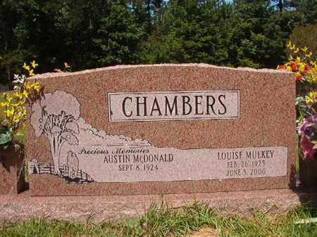 MULKEY CHAMBERS, LOUISE - Calhoun County, Arkansas | LOUISE MULKEY CHAMBERS - Arkansas Gravestone Photos