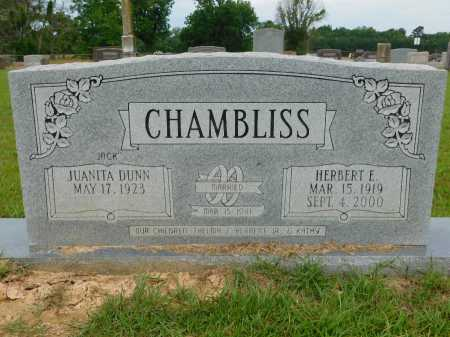 CHAMBLISS, HERBERT E - Calhoun County, Arkansas | HERBERT E CHAMBLISS - Arkansas Gravestone Photos