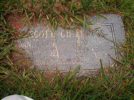 CHILDRESS, SCOTT - Calhoun County, Arkansas | SCOTT CHILDRESS - Arkansas Gravestone Photos