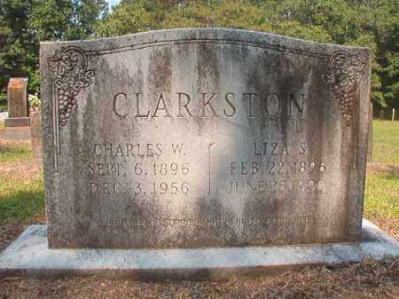 CLARKSTON, LIZA S - Calhoun County, Arkansas | LIZA S CLARKSTON - Arkansas Gravestone Photos