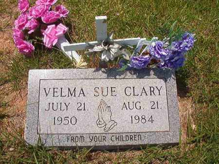 CLARY, VELMA SUE - Calhoun County, Arkansas | VELMA SUE CLARY - Arkansas Gravestone Photos