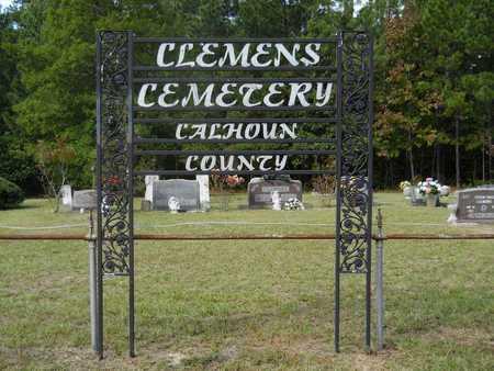 *CLEMENS CEMETERY, . - Calhoun County, Arkansas | . *CLEMENS CEMETERY - Arkansas Gravestone Photos
