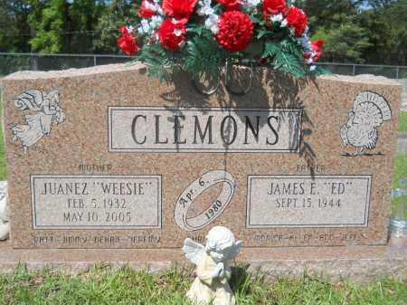 "CLEMONS, JUANEZ ""WEESIE"" - Calhoun County, Arkansas | JUANEZ ""WEESIE"" CLEMONS - Arkansas Gravestone Photos"