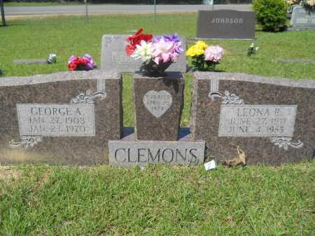 CLEMONS, LEONA R - Calhoun County, Arkansas | LEONA R CLEMONS - Arkansas Gravestone Photos