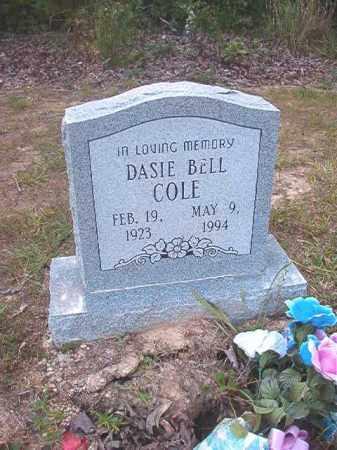 COLE, DASIE BELL - Calhoun County, Arkansas | DASIE BELL COLE - Arkansas Gravestone Photos