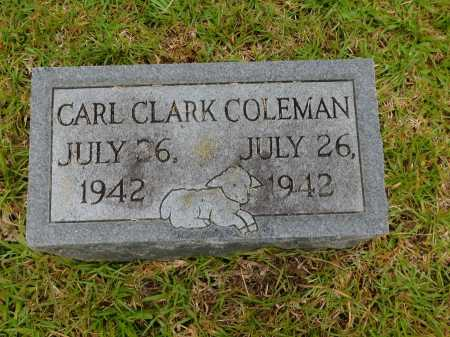 COLEMAN, CARL CLARK - Calhoun County, Arkansas | CARL CLARK COLEMAN - Arkansas Gravestone Photos