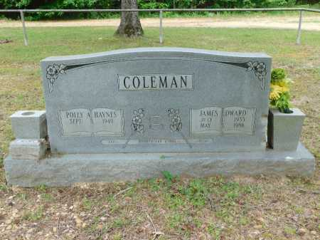 COLEMAN, JAMES EDWARD - Calhoun County, Arkansas | JAMES EDWARD COLEMAN - Arkansas Gravestone Photos