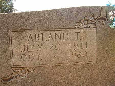 COLVERT, ARLAND T (CLOSEUP) - Calhoun County, Arkansas | ARLAND T (CLOSEUP) COLVERT - Arkansas Gravestone Photos