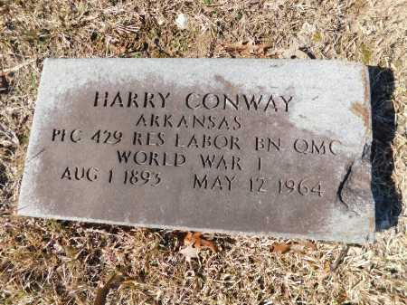 CONWAY (VETERAN WWI), HARRY - Calhoun County, Arkansas | HARRY CONWAY (VETERAN WWI) - Arkansas Gravestone Photos
