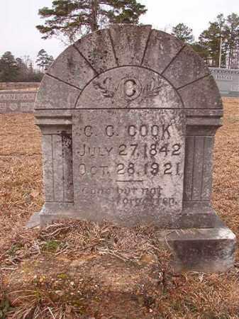COOK, C C - Calhoun County, Arkansas | C C COOK - Arkansas Gravestone Photos
