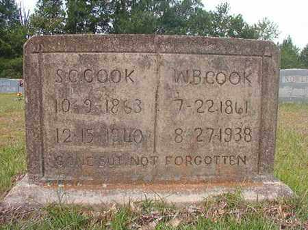 CALAWAY COOK, SUSAN - Calhoun County, Arkansas | SUSAN CALAWAY COOK - Arkansas Gravestone Photos