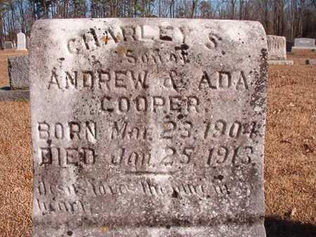COOPER, CHARLEY S - Calhoun County, Arkansas | CHARLEY S COOPER - Arkansas Gravestone Photos