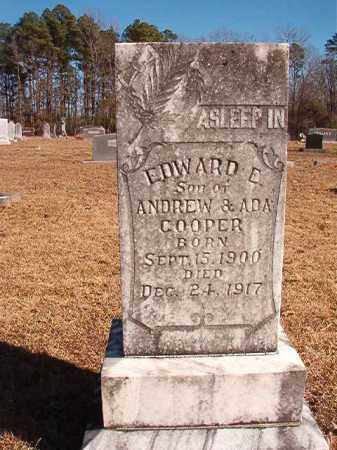 COOPER, EDWARD E - Calhoun County, Arkansas | EDWARD E COOPER - Arkansas Gravestone Photos