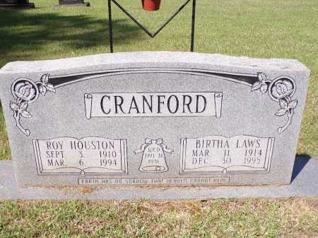 CRANFORD, BIRTHA - Calhoun County, Arkansas | BIRTHA CRANFORD - Arkansas Gravestone Photos