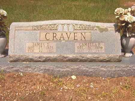 CRAVEN, JAMES D - Calhoun County, Arkansas | JAMES D CRAVEN - Arkansas Gravestone Photos