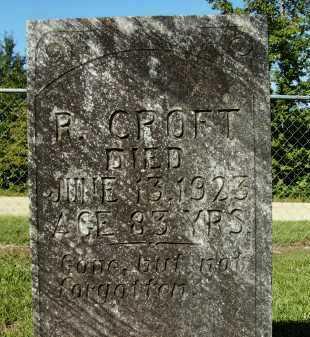 CROFT, R - Calhoun County, Arkansas | R CROFT - Arkansas Gravestone Photos