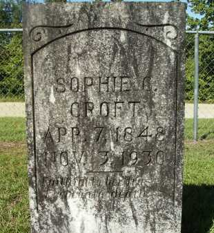 CROFT, SOPHIE C - Calhoun County, Arkansas | SOPHIE C CROFT - Arkansas Gravestone Photos