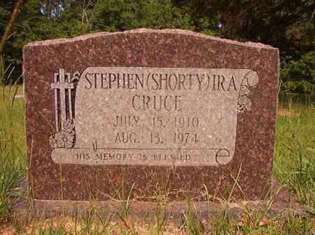 CRUCE, STEPHEN (SHORTY) IRA - Calhoun County, Arkansas | STEPHEN (SHORTY) IRA CRUCE - Arkansas Gravestone Photos