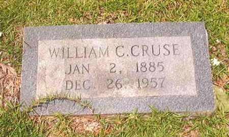 CRUSE, WILLIAM C - Calhoun County, Arkansas | WILLIAM C CRUSE - Arkansas Gravestone Photos