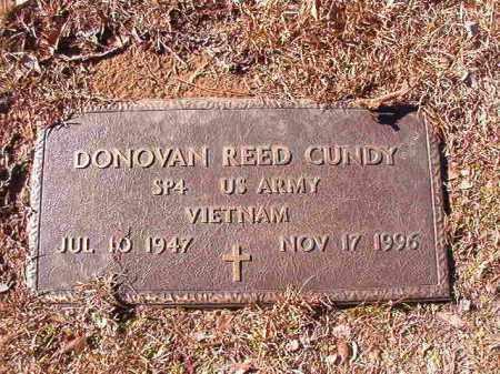 CUNDY (VETERAN VIET), DONOVAN REED - Calhoun County, Arkansas | DONOVAN REED CUNDY (VETERAN VIET) - Arkansas Gravestone Photos