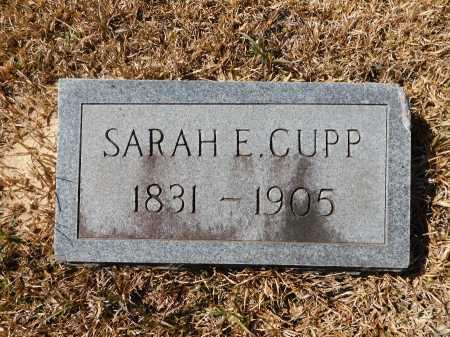 CUPP, SARAH E - Calhoun County, Arkansas | SARAH E CUPP - Arkansas Gravestone Photos